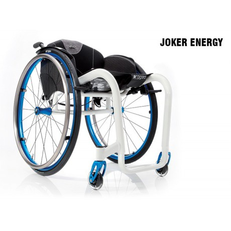 Carrozzina superleggera a telaio rigido JOKER ENERGY PROGEO
