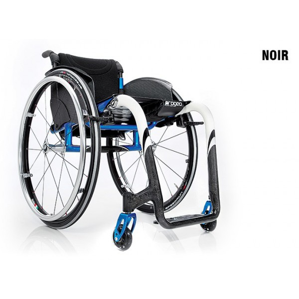carrozzina per disabili Noir Progeo