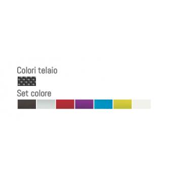 colori carrozzina per disabili superleggera progeo