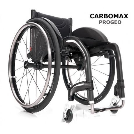 Carrozzina superleggera rigida in carbonio CARBOMAX PROGEO