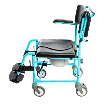 sedia comoda wc e doccia BluLine per disabili