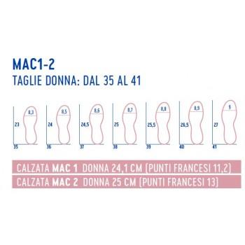 taglie SCARPE DONNA MAC1 SOFLEX OPTIMA MOLLITER