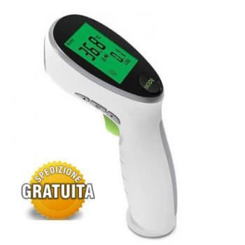 termometro frontale senza contatto a infrarossi - spedizione gratuita