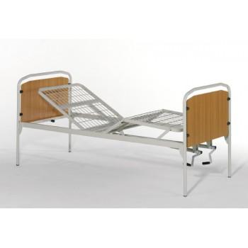 letto ortopedico 2 manovelle larghezza 120 cm