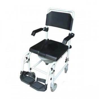sedia comoda WC con ruote Wave 2
