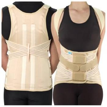 corsetto semirigido dorsolombare 537 F Tielle