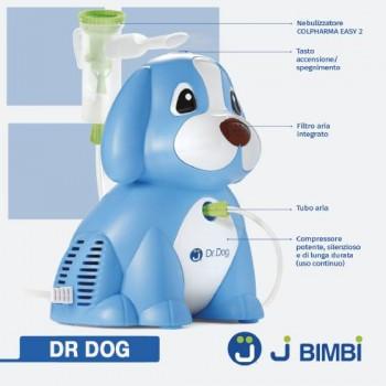 Aerosol per bambini ad aria compressa Dr. Dog